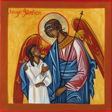 Ange gardien et l'enfant