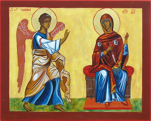 L'ange Gabriel et l'Annonciation