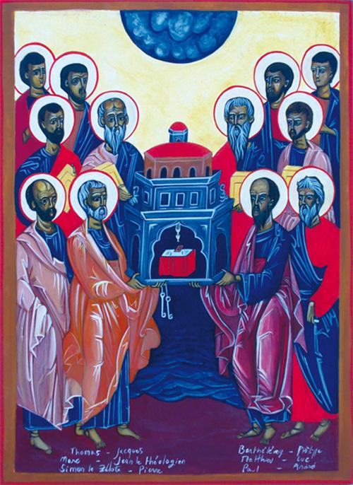 Le choeur des douze apôtres