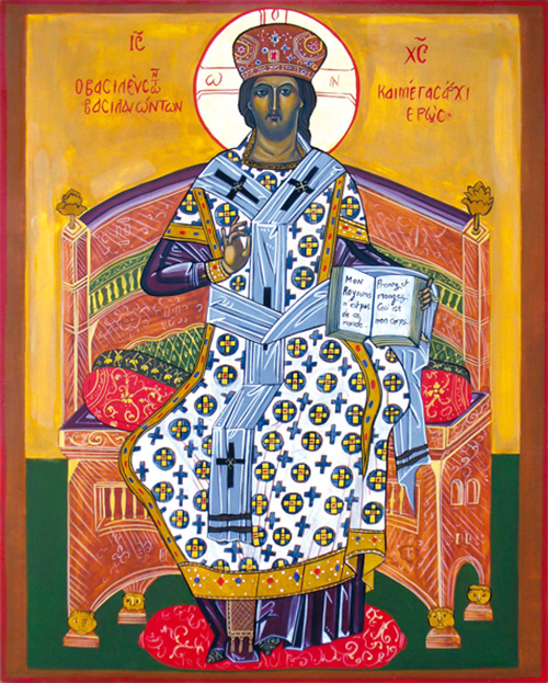 Christ grand prêtre