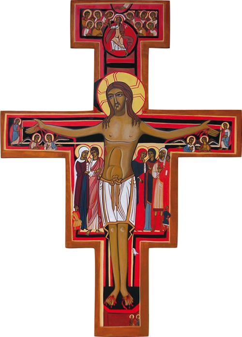 La croix de saint Damien
