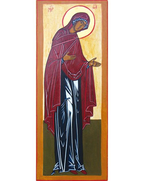 Marie montrant le Christ