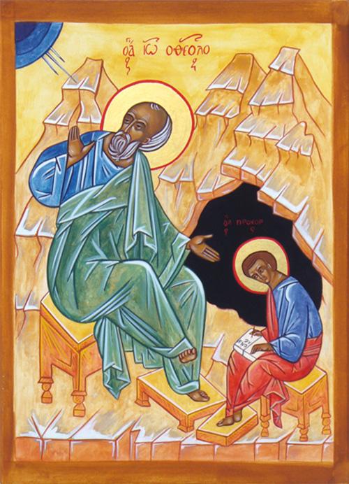 Saint Jean l'évangéliste et le diacre Prochore