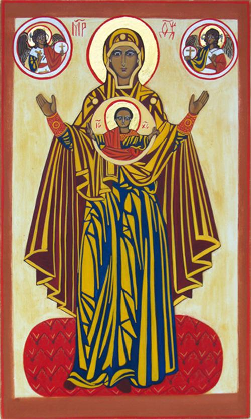 Vierge de la Grande Panagria dite Vierge orante d'Iaroslav