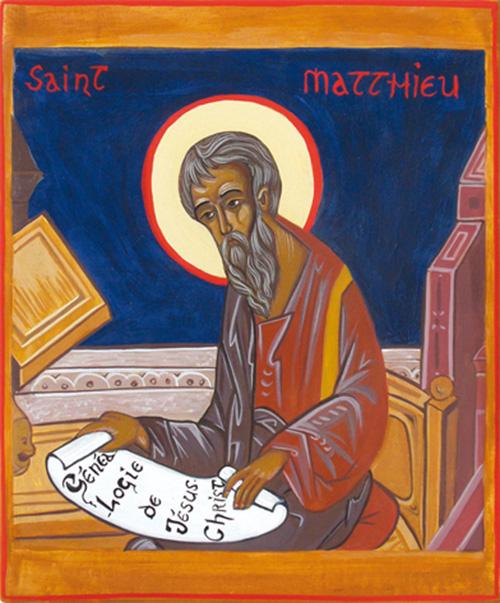 Saint Matthieu l'évangéliste