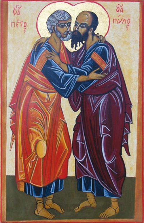 La réconciliation des saints Pierre et Paul