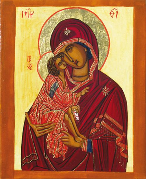 Vierge de l'amour de Dieu