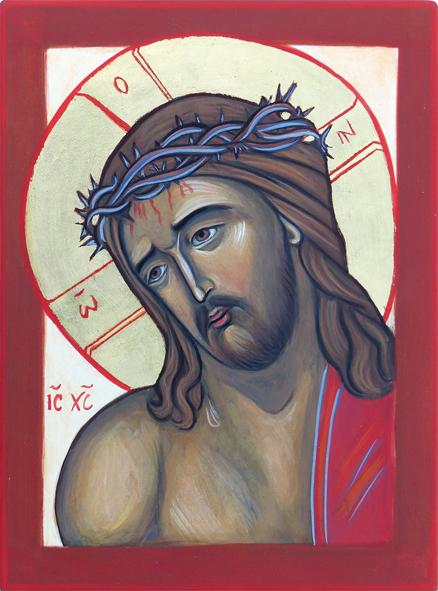 Christ couronné d'épines